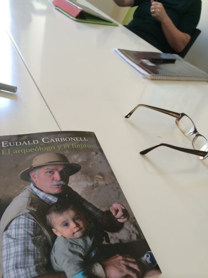 The archaeologist and the future by Eudald Carbonell. Reading Club